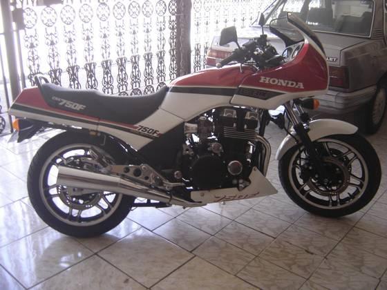 HONDA CBX 750 FOUR ESPORTIVA 1987/1987