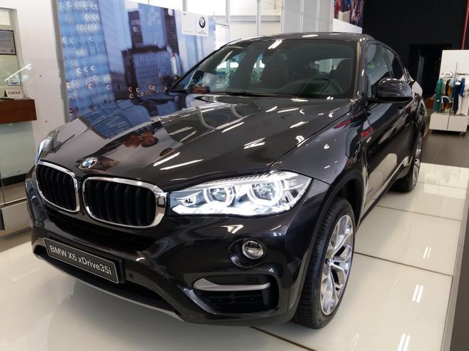BMW X6 3.0 35I 4X4 COUPÉ 6 CILINDROS 24V GASOLINA 4P AUTOMÁTICO 2017/2018
