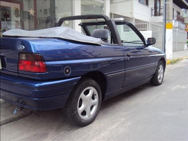 FORD ESCORT 2.0 I XR3 CONVERSÍVEL 8V GASOLINA 2P MANUAL 1995/1995