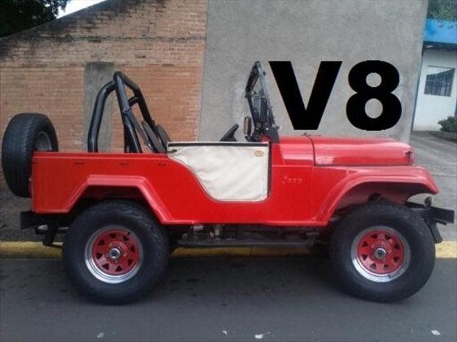 Ford Jeep Cj 5 Webmotors 9061636
