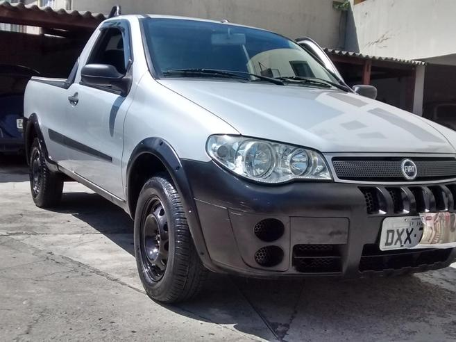 FIAT STRADA 1.4 MPI TREKKING CS 8V FLEX 2P MANUAL 2008/2008