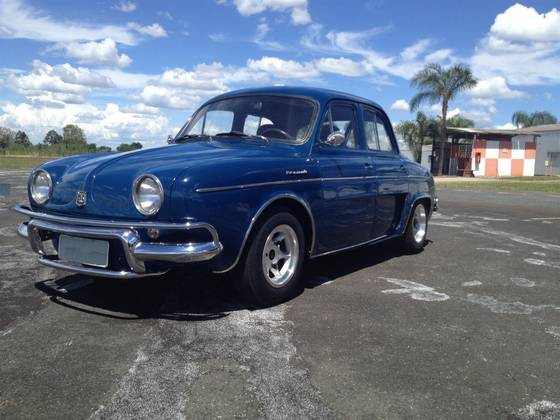 RENAULT GORDINI 0.8 II GASOLINA 4P MANUAL 1966/1966
