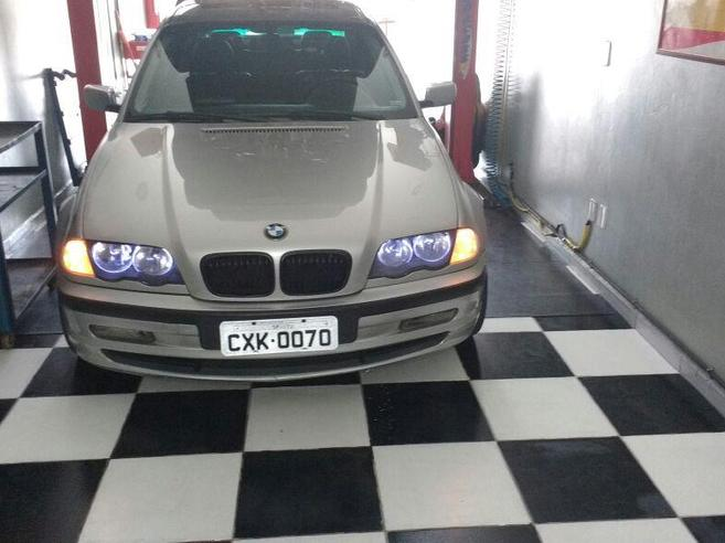 BMW 328i 2.8 EXCLUSIVE SEDAN 24V GASOLINA 4P AUTOMÁTICO 1998/1998