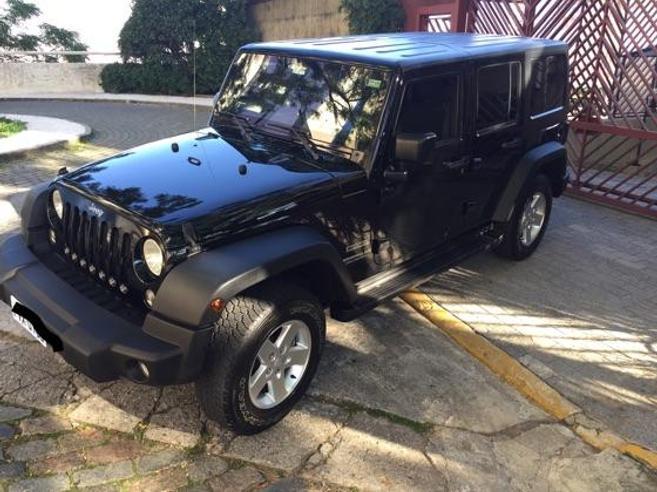 JEEP WRANGLER 3.6 UNLIMITED SPORT 4X4 V6 GASOLINA 4P AUTOMÁTICO 2014/2014