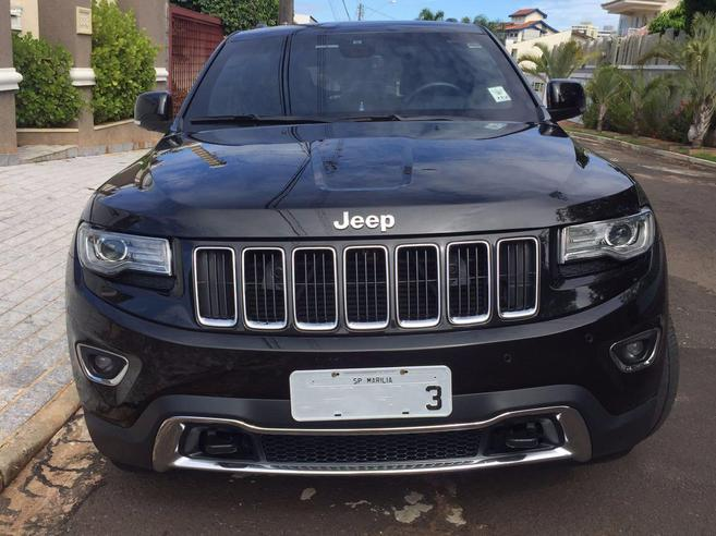 JEEP GRAND CHEROKEE 3.0 LIMITED 4X4 V6 24V TURBO DIESEL 4P AUTOMÁTICO 2013/2014