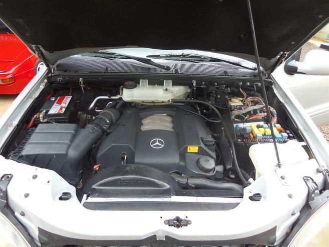 MERCEDES-BENZ ML 320 3.2 4X4 V6 18V GASOLINA 4P AUTOMÁTICO 2000/2000