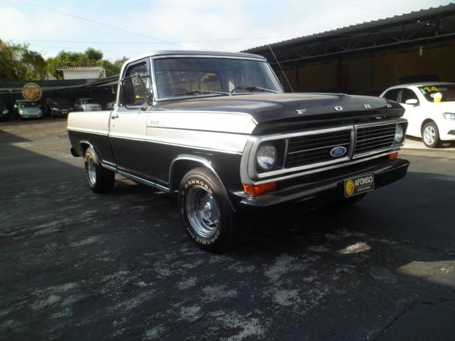 FORD F-100 3.6 SUPER GASOLINA 2P MANUAL 1984/1984