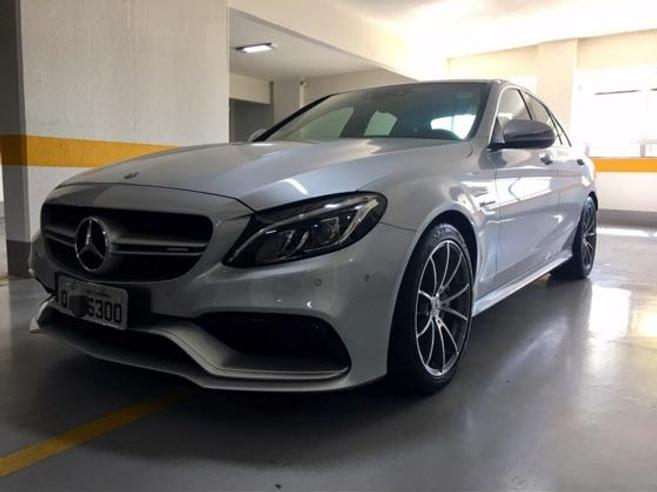 MERCEDES-BENZ C 63 AMG 4.0 V8 TURBO GASOLINA SEDAN 4P AUTOMÁTICO 2015/2016