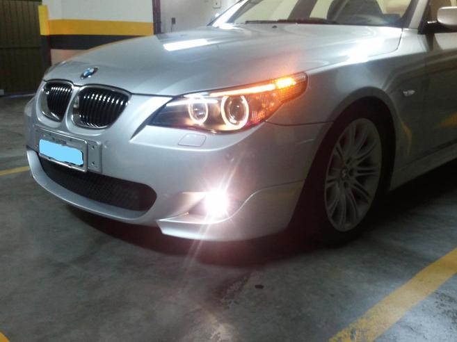 BMW 550i 4.8 SPORT SEDAN V8 32V GASOLINA 4P AUTOMÁTICO 2007/2007