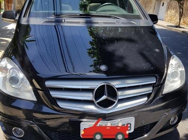 MERCEDES-BENZ B 180 1.7 FAMILY 8V GASOLINA 4P AUTOMÁTICO 2010/2010