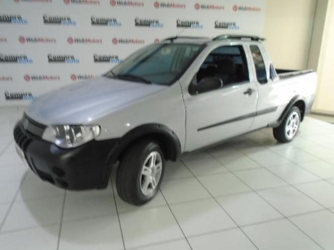 FIAT STRADA 1.4 MPI FIRE CE 8V FLEX 2P MANUAL 2006/2007