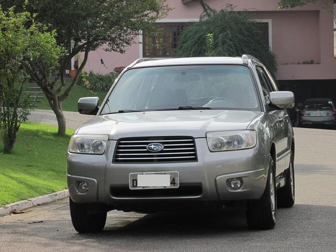 SUBARU FORESTER 2.0 LX 4X4 16V GASOLINA 4P AUTOMÁTICO 2007/2008