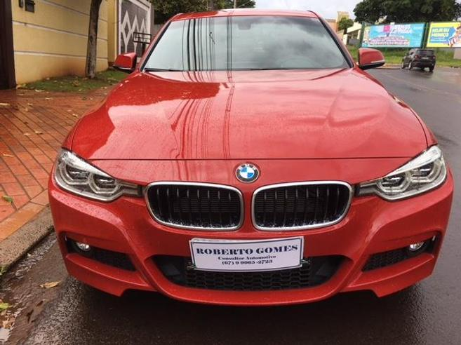 BMW 328i 2.0 M SPORT 16V ACTIVEFLEX 4P AUTOMÁTICO 2016/2016