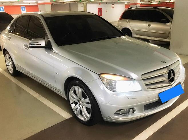 MERCEDES-BENZ C 280 3.0 AVANTGARDE V6 GASOLINA 4P AUTOMÁTICO 2008/2009