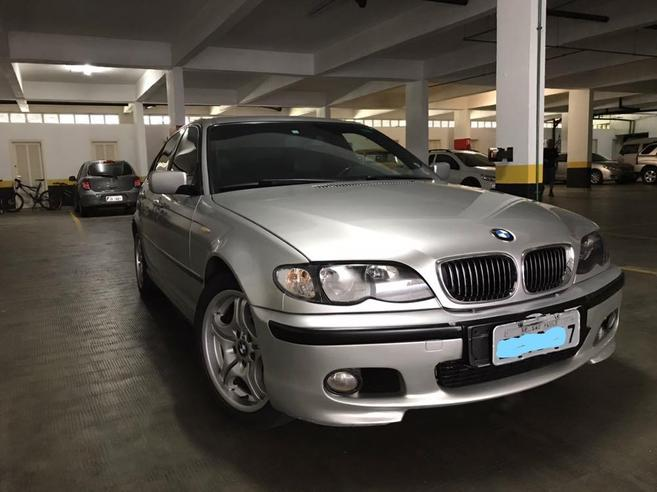 BMW 330i 3.0 MOTORSPORT SEDAN 24V GASOLINA 4P AUTOMÁTICO 2002/2002