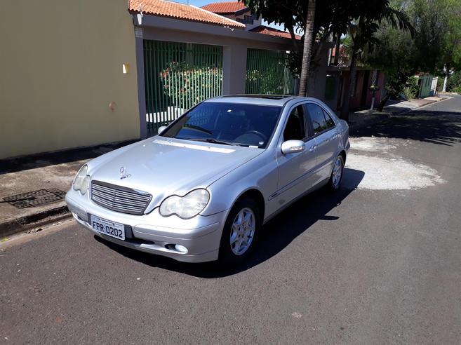 MERCEDES-BENZ C 180 1.8 16V GASOLINA 4P AUTOMÁTICO 2001/2002
