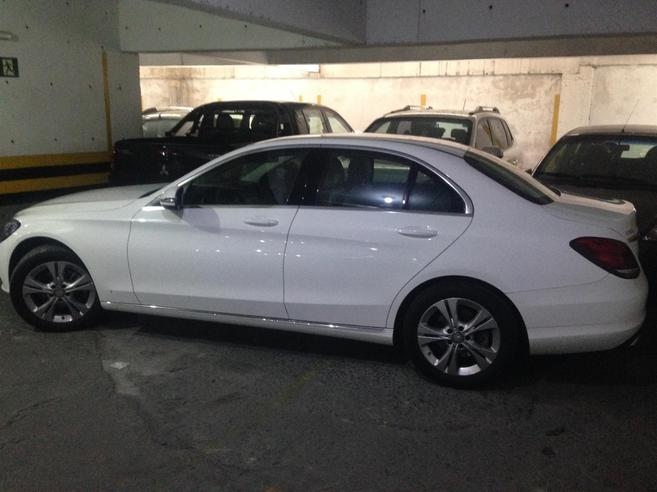 MERCEDES-BENZ C 180 1.6 CGI 16V TURBO FLEX 4P AUTOMÁTICO 2015/2016