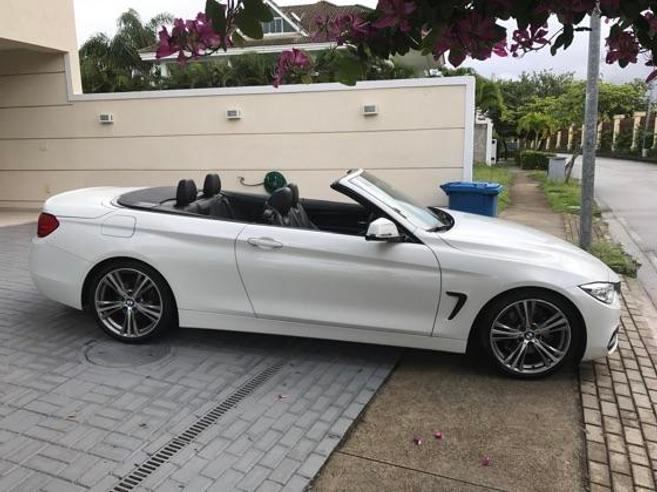BMW 428i 2.0 SPORT GP CABRIO 16V TURBO GASOLINA 2P AUTOMÁTICO 2014/2015