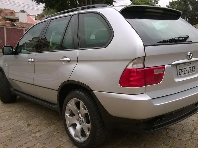 BMW X5 4.4 SPORT 4X4 V8 32V GASOLINA 4P AUTOMÁTICO 2003/2003