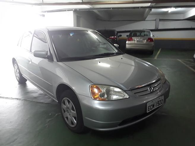 HONDA CIVIC 1.7 LX 16V GASOLINA 4P AUTOMÁTICO 2003/2003