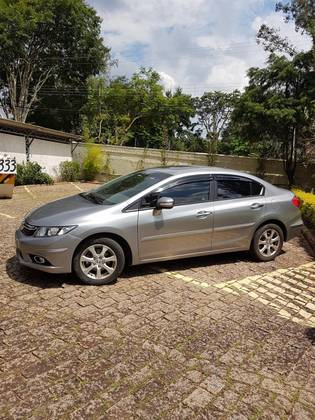 Marvelous HONDA CIVIC 1.8 EXS 16V FLEX 4P AUTOMÁTICO