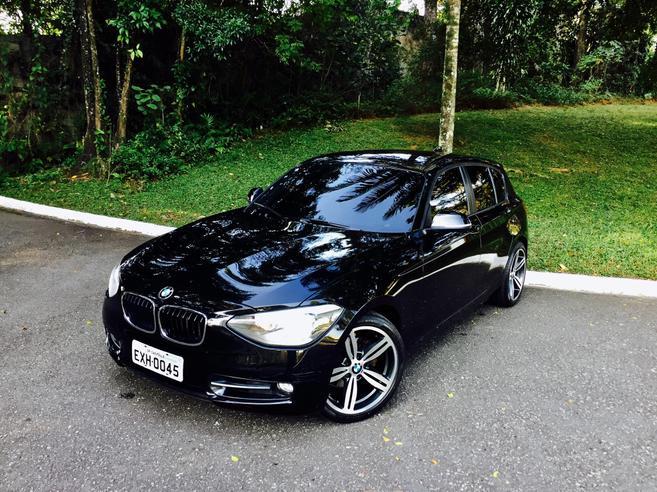 BMW 118i 1.6 SPORT GP 16V TURBO GASOLINA 4P AUTOMÁTICO 2012/2012