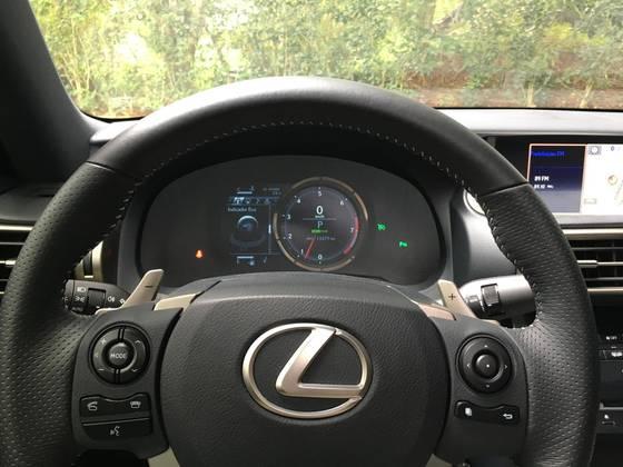 LEXUS IS250 F SPORT 2.5 V6 24V GASOLINA 4P AUTOMÁTICO 2014/2014