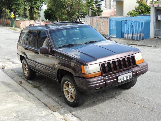 JEEP GRAND CHEROKEE 5.2 LIMITED 4X4 V8 16V GASOLINA 4P AUTOMÁTICO 1998/1998