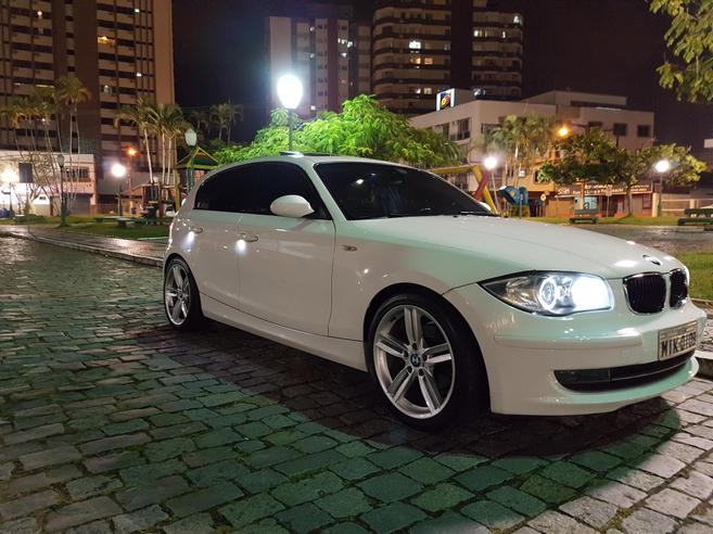 BMW 120i 2.0 TOP HATCH 16V GASOLINA 4P AUTOMÁTICO 2008/2009