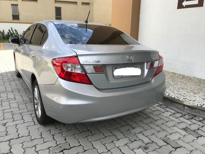 HONDA CIVIC 1.8 LXL 16V FLEX 4P AUTOMÁTICO 2012/2013