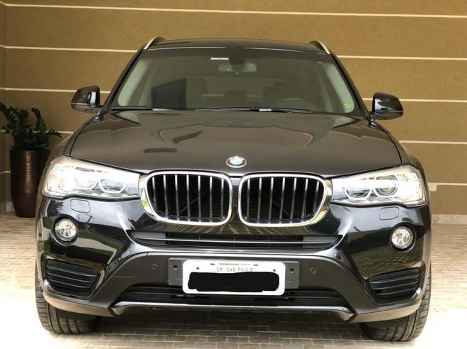 BMW X3 2.0 20I 4X4 16V GASOLINA 4P AUTOMÁTICO 2016/2016