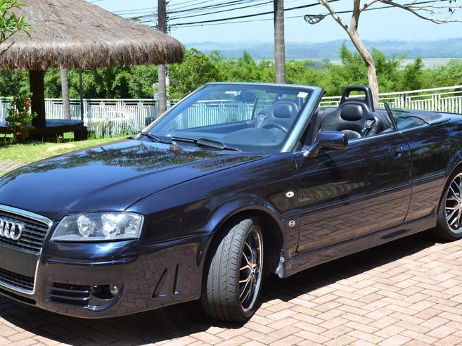 AUDI 80 2.8 E CABRIOLET V6 GASOLINA 2P AUTOMÁTICO 1995/1995