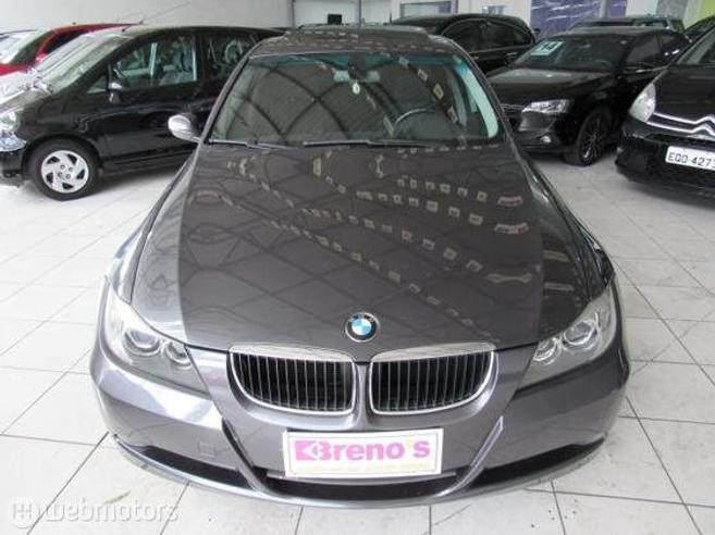 BMW 320i 2.0 16V GASOLINA 4P AUTOMÁTICO 2007/2008