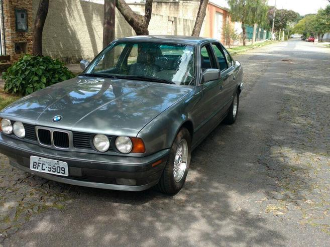 BMW 535i 3.5 SEDAN 24V GASOLINA 4P AUTOMÁTICO 1991/1991