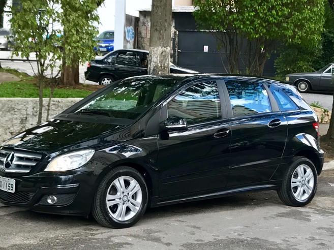 MERCEDES-BENZ B 200 2.0 8V GASOLINA 4P AUTOMÁTICO 2010/2010