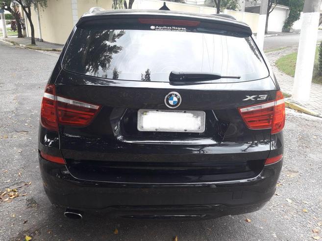 BMW X3 2.0 20I X LINE 4X4 16V GASOLINA 4P AUTOMÁTICO 2015/2016