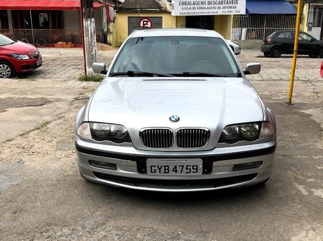 BMW 328i 2.8 EXCLUSIVE SEDAN 24V GASOLINA 4P AUTOMÁTICO 2000/2000