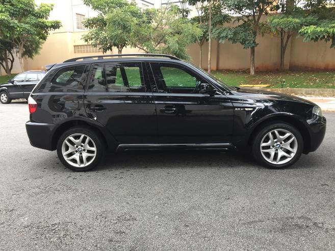 BMW X3 2.5 FAMILY 4X4 24V GASOLINA 4P AUTOMÁTICO 2008/2008