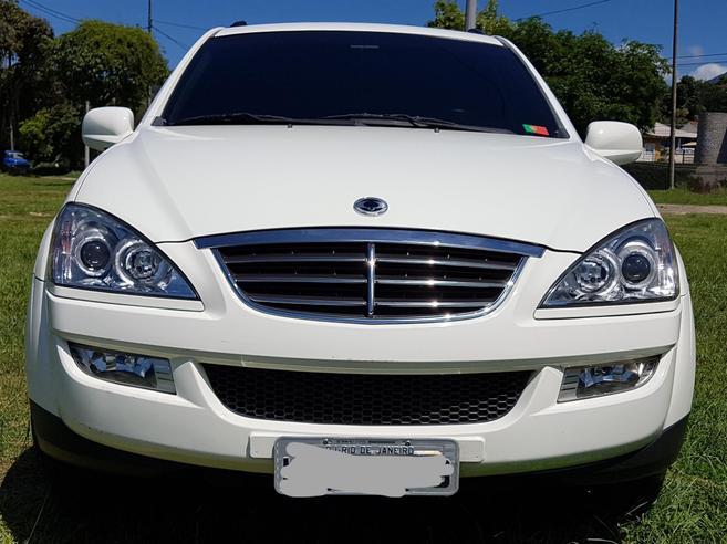 SSANGYONG KYRON 2.0 GLS 200KY 4X4 16V TURBO DIESEL 4P AUTOMÁTICO 2011/2012