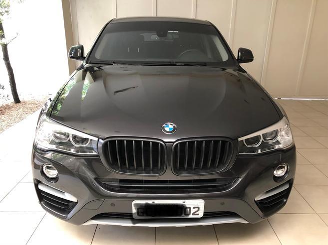 BMW X4 2.0 28I X LINE 4X4 16V TURBO GASOLINA 4P AUTOMÁTICO 2016/2017