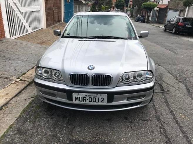 BMW 323i 2.5 COMFORT SEDAN 24V GASOLINA 4P AUTOMÁTICO 1999/1999