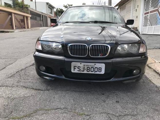 BMW 330i 3.0 MOTORSPORT SEDAN 24V GASOLINA 4P AUTOMÁTICO 2001/2001