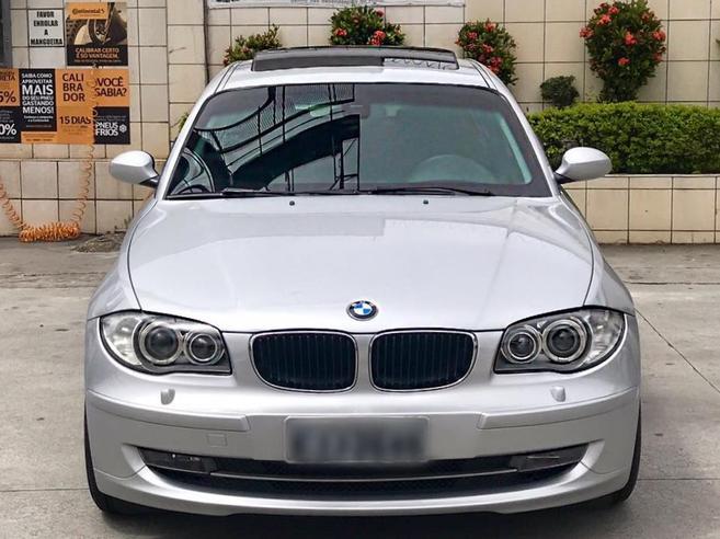 BMW 120i 2.0 TOP HATCH 16V GASOLINA 4P AUTOMÁTICO 2009/2010
