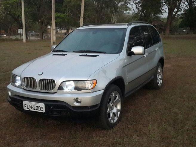 BMW X5 4.4 I 4X4 V8 32V GASOLINA 4P AUTOMÁTICO 2003/2003