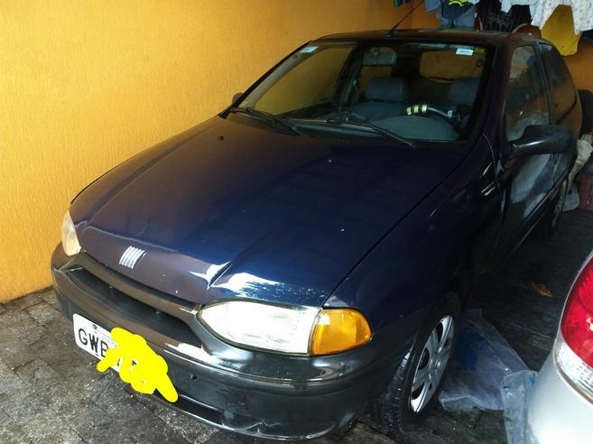 FIAT PALIO 1.0 MPI EDX 8V GASOLINA 2P MANUAL 1997/1997
