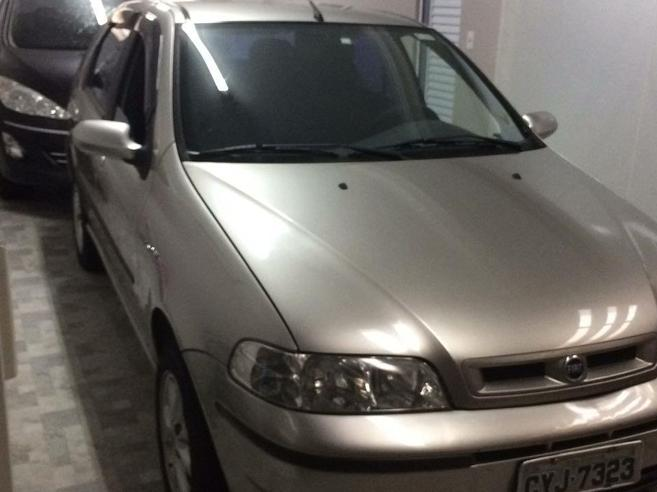 FIAT PALIO 1.3 MPI FIRE ELX 16V GASOLINA 4P MANUAL 2001/2001