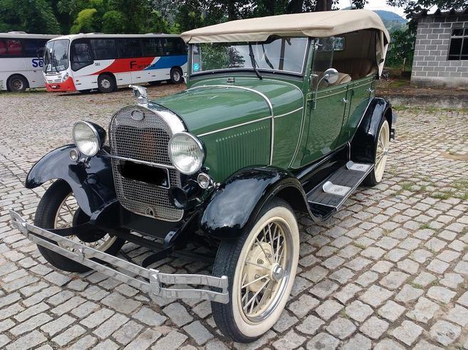 FORD A 0.8 4 CILINDROS PHAETON 4P GASOLINA MANUAL 1929/1929