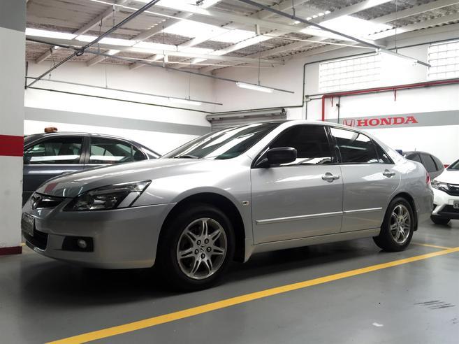 HONDA ACCORD 3.0 EX V6 24V GASOLINA 4P AUTOMÁTICO 2007/2007