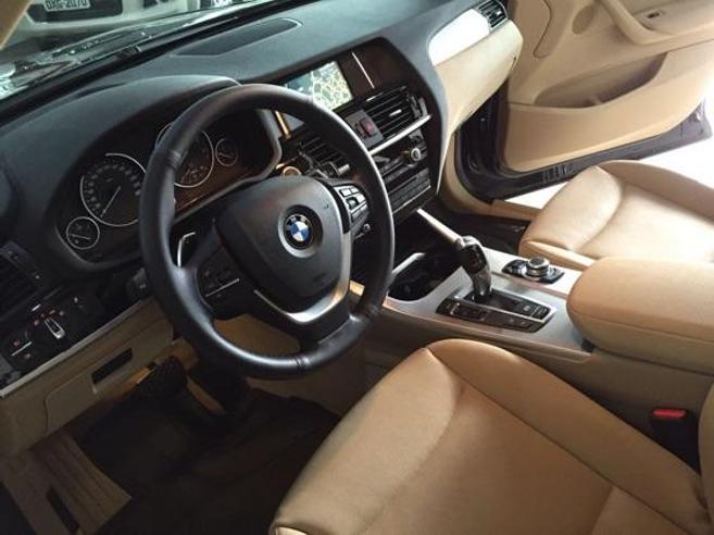 BMW X3 2.0 20I 4X4 16V GASOLINA 4P AUTOMÁTICO 2015/2016