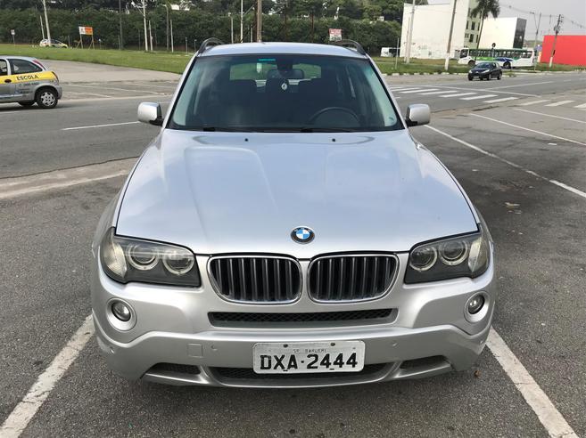 BMW X3 2.5 SI FAMILY 4X4 24V GASOLINA 4P AUTOMÁTICO 2006/2007